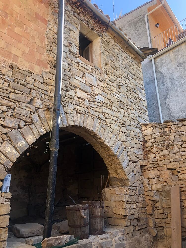 arch in stone